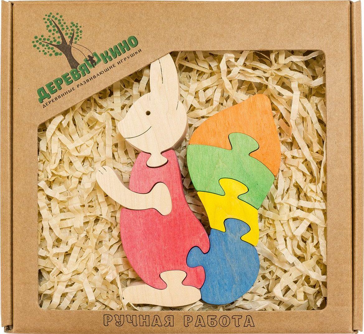 Деревяшкино Пазл для малышей Белочка деревяшкино пазл для малышей бронтозавр 2