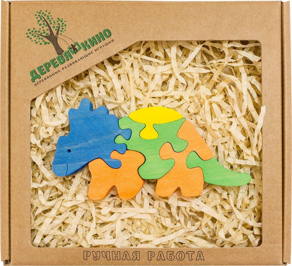 Деревяшкино Пазл для малышей Бронтозавр 2