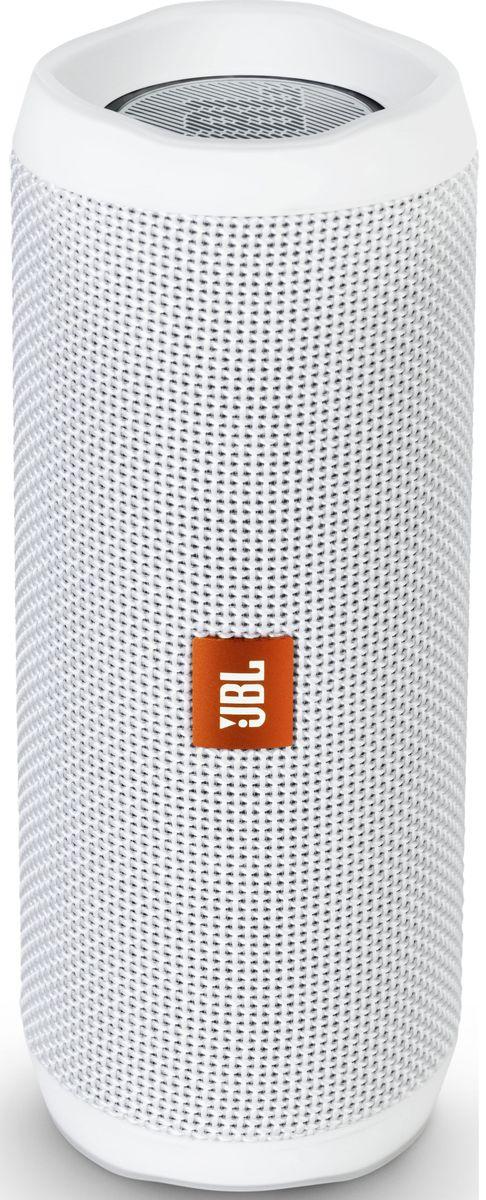 JBL Flip 4, White портативная акустическая системаJBLFLIP4WHT
