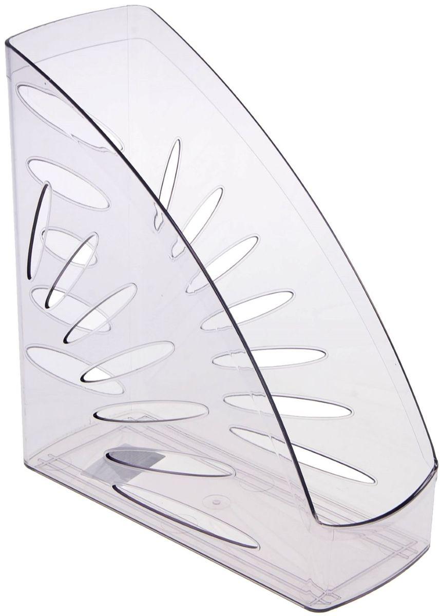 Стамм Лоток для бумаг вертикальный Тропик цвет серый -  Лотки, подставки для бумаг