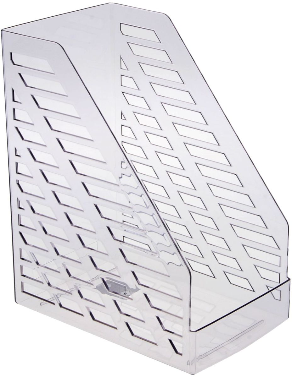 Стамм Лоток для бумаг вертикальный XXL цвет серый -  Лотки, подставки для бумаг