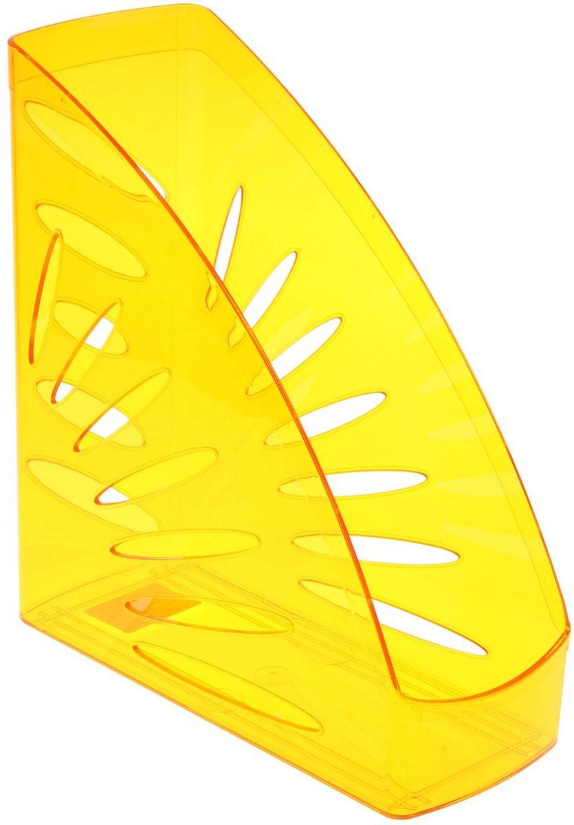 Стамм Лоток для бумаг вертикальный Тропик цвет оранжевый1088445Лоток для бумаг Стамм выполнен в современном элегантном дизайне из высококачественного пластика.Лоток имеет одно отделение для листов формата А4, на рабочем столе устанавливается вертикально.С лотком для бумаг Стамм у вас больше не возникнут сложности с поддержанием порядка на столе!