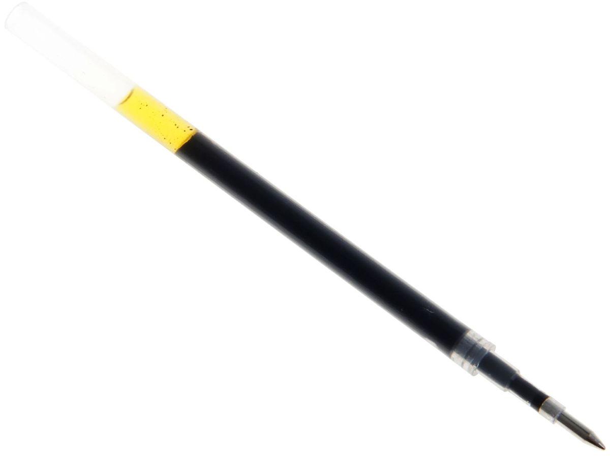 Стержень для гелевой ручки цвет черный 127759127759Продлить жизнь любимой ручки – задача простая. Стержень гелевый черный 0,5мм d-5мм L-110мм для автоматической гелевой ручки легко вставляется и заменяется. Иметь комплект запасных стержней очень практично и удобно. Кроме того, это значительно сэкономит ваши финансы, потому что стержень стоит намного дешевле новой ручки.
