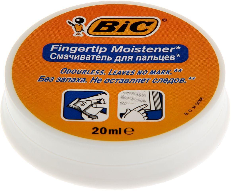 BIC Увлажнитель для пальцев гелевый 13146701314670Канцелярские принадлежности BIC известны во всем мире благодаря неизменно высокому качеству и простоте в использовании. Смачиватель для пальцев BIC Fingertip позволит быстро и аккуратно перелистывать страницы и денежные купюры. Гель для увлажнения пальцев, в круглом пластиковом корпусе, объем — 20 мл. Наполнение: гелевый состав на водной основе, не оставляет следов после высыхания. Гель для увлажнения пальцев гигиеничен, без запаха. Обладает антисептическими свойствами.