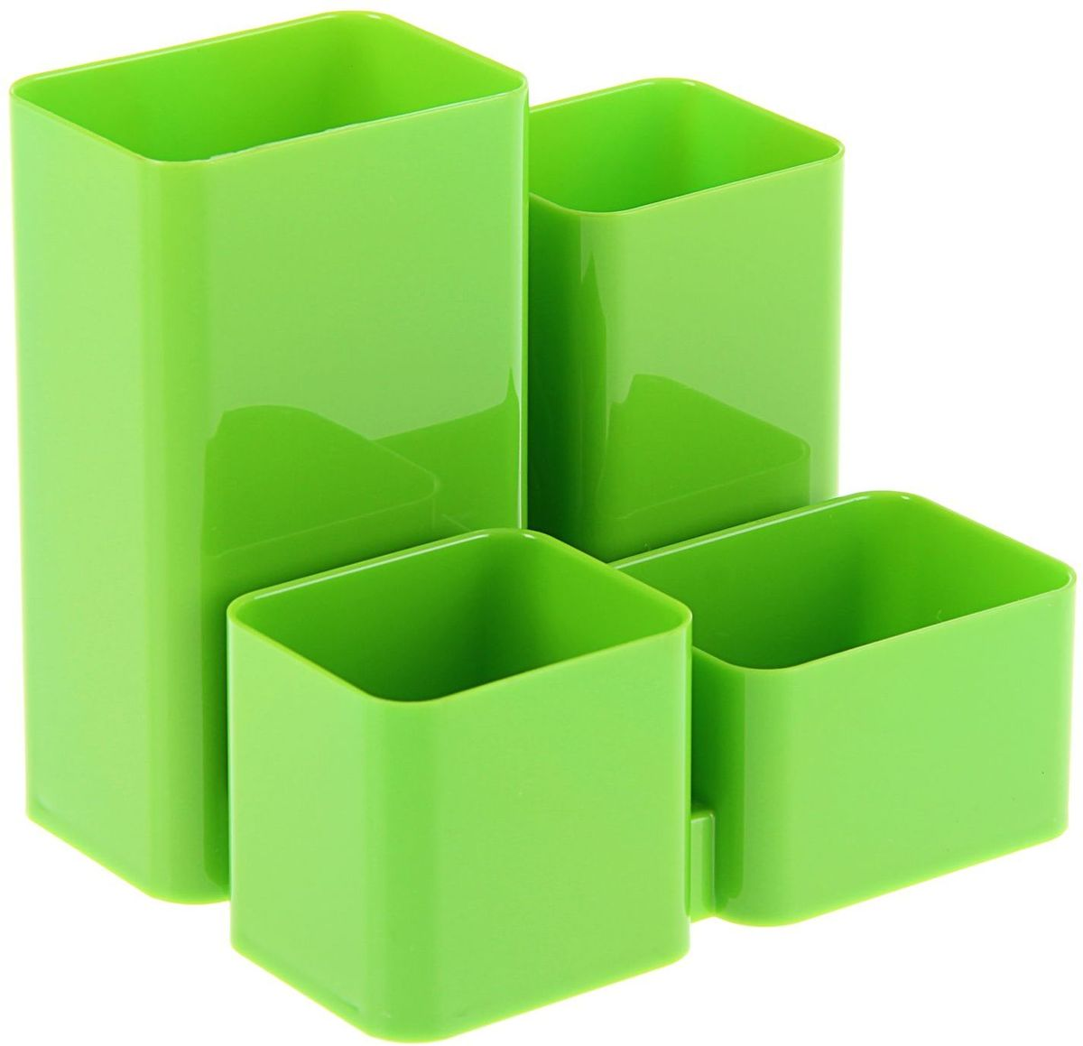 Стамм Органайзер настольный Юниор цвет зеленый161637Органайзер Стамм Юниор – простая и практичная вещь. Он очень быстро станет незаменимым жителем на рабочем столе. Множество отделений вместят в себя все самое необходимое, сэкономив тем самым ваше время, пространство на столе и деньги.