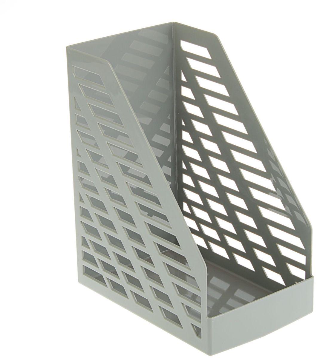 Стамм Лоток для бумаг вертикальный XXL цвет серый 1889792 -  Лотки, подставки для бумаг