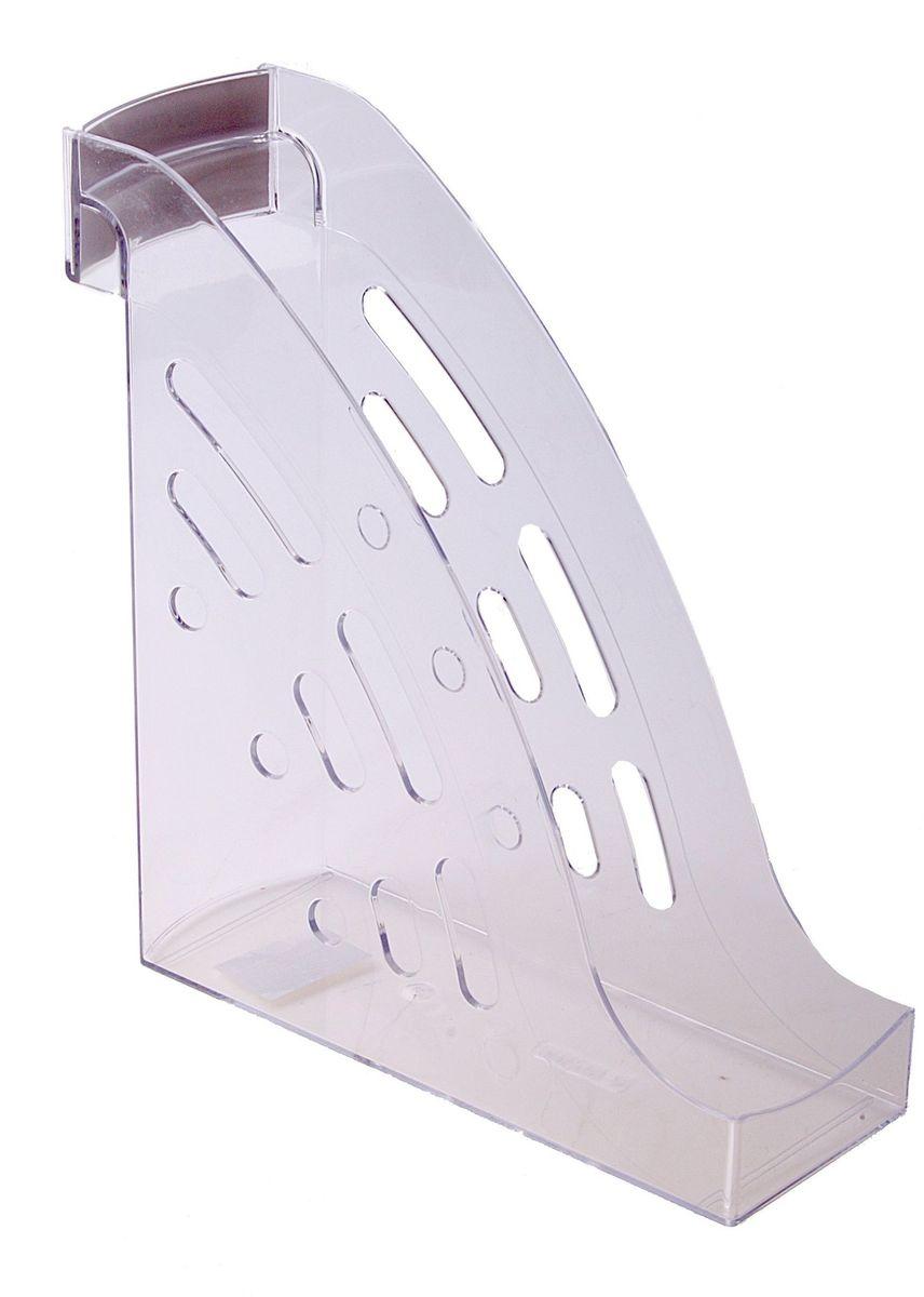 Стамм Лоток для бумаг вертикальный Торнадо цвет прозрачный