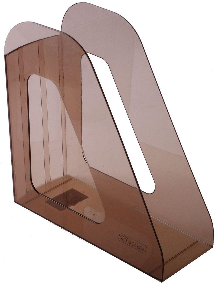 Стамм Лоток для бумаг вертикальный Фаворит цвет коричневый -  Лотки, подставки для бумаг