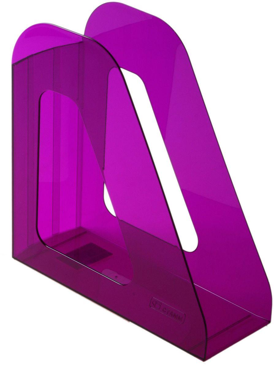 Стамм Лоток для бумаг вертикальный Фаворит цвет сливовый584875Лоток для бумаг Стамм выполнен в современном элегантном дизайне из высококачественного пластика. Лоток имеет одно отделение для листов формата А4, на рабочем столе устанавливается вертикально.С лотком для бумаг Стамм у вас больше не возникнут сложности с поддержанием порядка на столе!