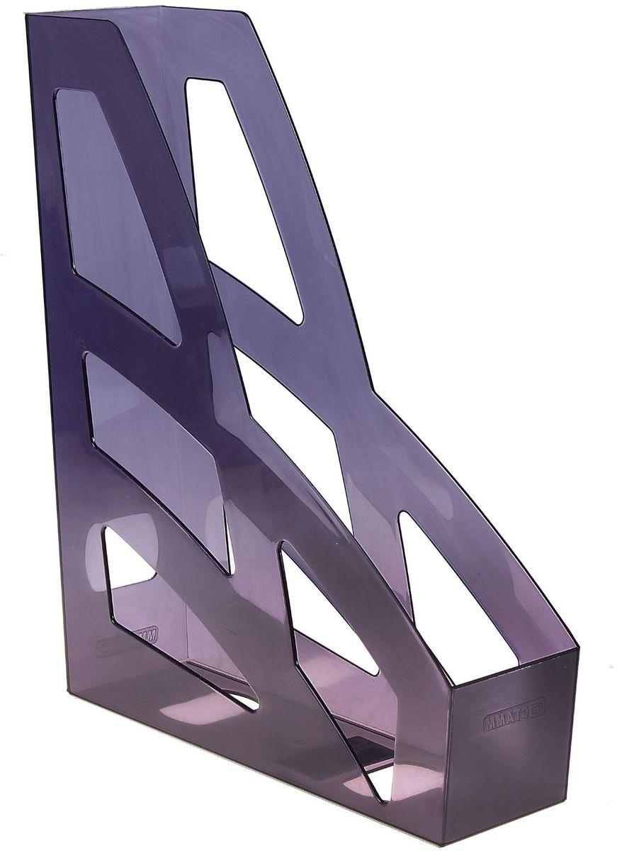Стамм Лоток для бумаг вертикальный Лидер цвет серый601185Лоток для бумаг Стамм выполнен в современном элегантном дизайне из высококачественного пластика.Лоток имеет одно отделение для листов формата А4, на рабочем столе устанавливается вертикально.С лотком для бумаг Стамм у вас больше не возникнут сложности с поддержанием порядка на столе!