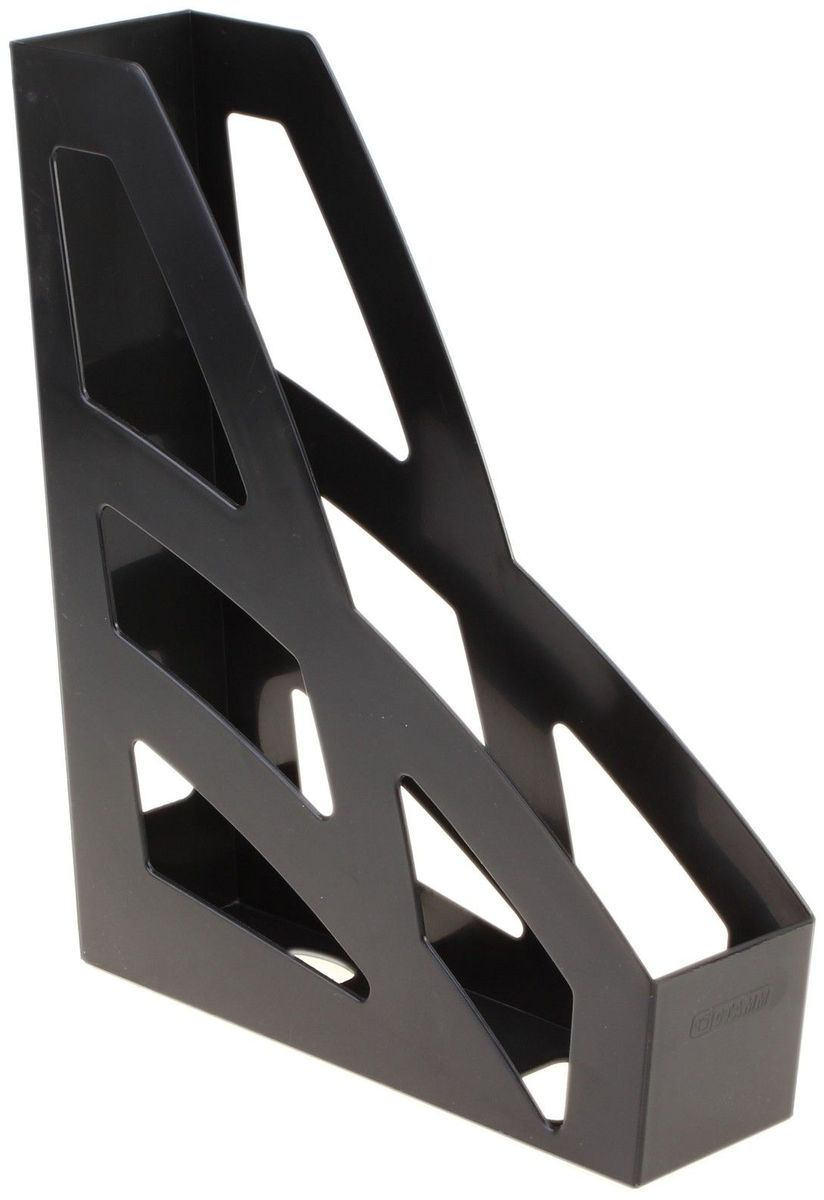 Стамм Лоток для бумаг вертикальный Лидер цвет черный