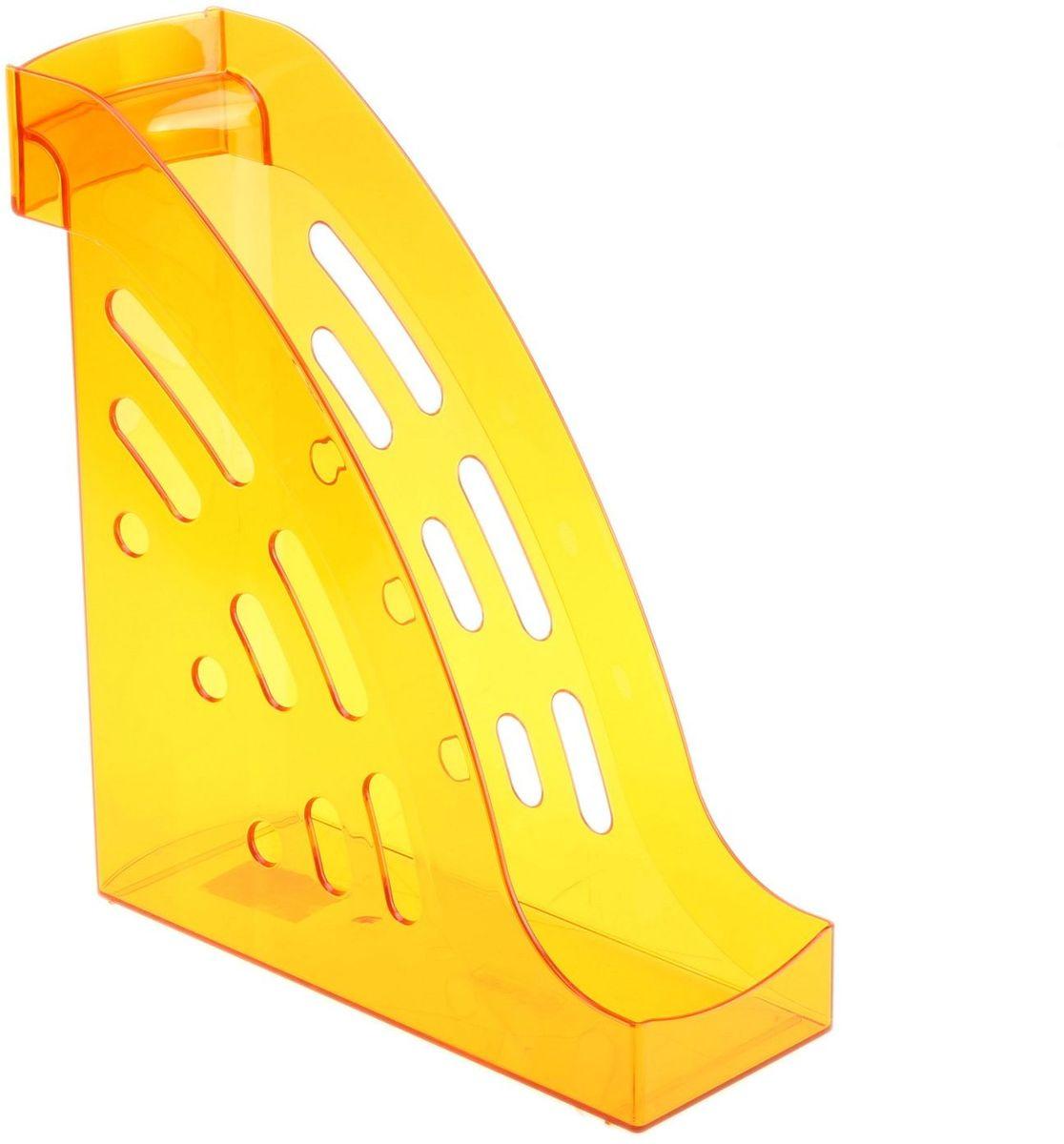 Стамм Лоток для бумаг вертикальный Торнадо цвет манго609297Лоток для бумаг Стамм выполнен в современном элегантном дизайне из высококачественного пластика.Лоток имеет одно отделение для листов формата А4, на рабочем столе устанавливается вертикально.С лотком для бумаг Стамм у вас больше не возникнут сложности с поддержанием порядка на столе!