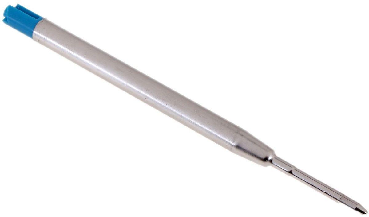 Стержень для шариковой ручки цвет синий 634793634793Продлить жизнь любимой ручки – задача простая. Стержень шариковый для авторучек, синий легко вставляется и заменяется. Иметь комплект запасных стержней очень практично и удобно. Кроме того, это значительно сэкономит ваши финансы, потому что стержень стоит намного дешевле новой ручки.
