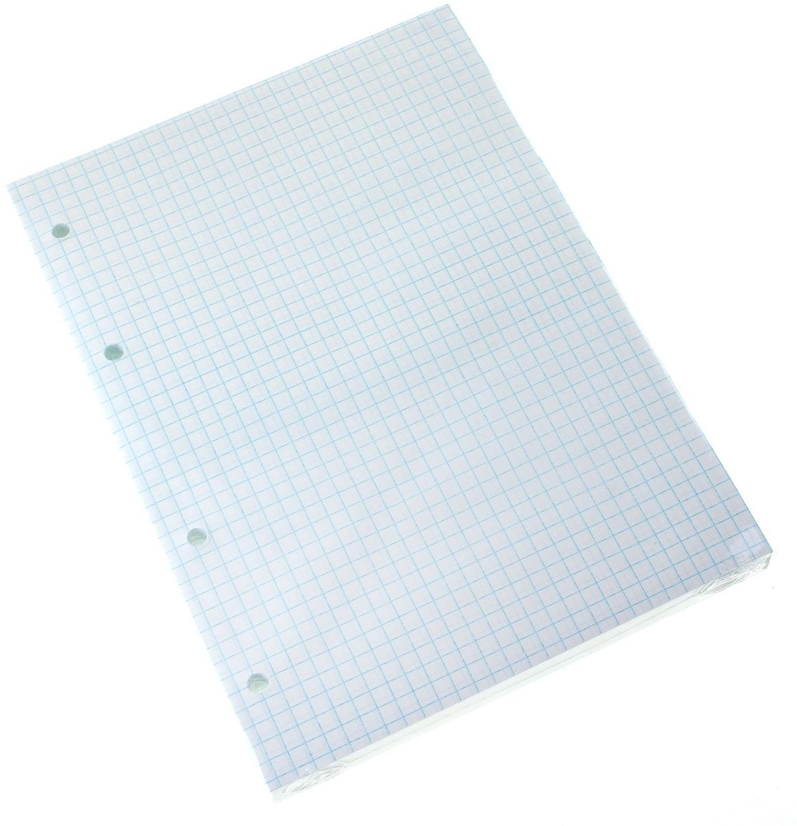КПК Сменный блок для тетради на кольцах формат A5 160 листов в клетку679456Сменный блок в клетку КПК предназначен для тетрадей с кольцевым механизмом.Листы выполнены из бумаги белого цвета формата А5 в голубую клетку и имеют универсальную перфорацию.Идеально подходят для использования всех видов пишущих принадлежностей, включая гелевые, капиллярные и перьевые ручки.