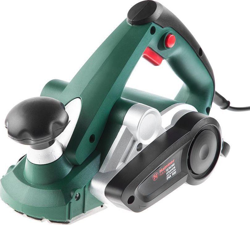 Рубанок Hammer Flex RNK900147-005Рубанок Hammer Flex RNK900 900Вт 16000об/мин нож 82мм срез до 3мм + опорная рамка