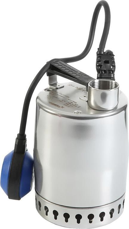 Насос дренажный Grundfos Unilift KP 250-A1, 480 Вт, 10500 л/ч012H1800Дренажный насос Grundfos Unilift KP 250-A1 используют для отвода сильно загрязненных,в том числе сточных, вод. Электродвигатель мощностью 480 Вт защищен от перегрева.Максимальная производительность по воде 10500 л/час. Корпус насоса выполнен изнержавеющей стали. Поплавковый выключатель обеспечивает автоматическую работуаппарата.Технические характеристики:Мощность: 480 Вт; Производительность по воде (макс.): 10500 л/час; Глубина забора воды (макс.): 10 м; Высота подачи воды (макс.): 7,5 м; Допустимый диаметр твердых частиц: 10 мм; Температура перекачиваемой жидкости (макс.): +50оС; Длина электрокабеля: 10 м; Вес нетто: 6,5 кг; Корпус из нержавеющей стали; Встроенный термовыключатель; Для откачивания грязной воды; Автоматическая работа за счет поплавкового выключателя.