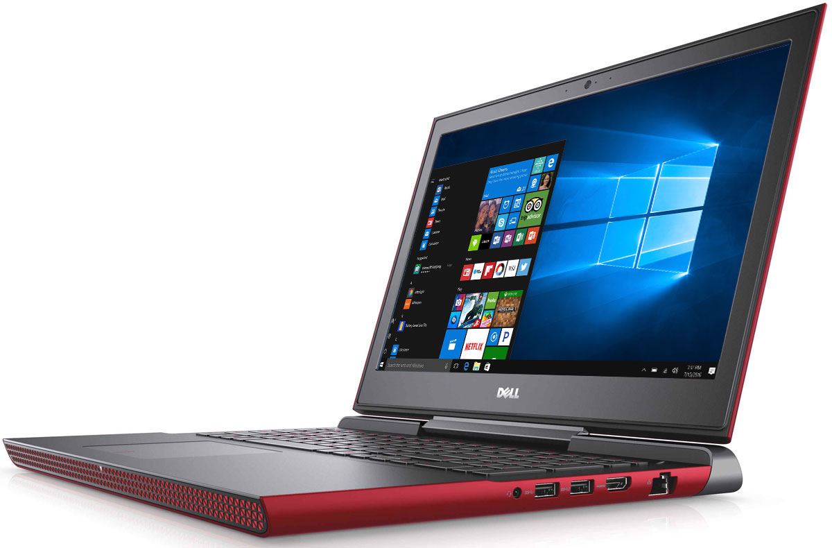 Dell Inspiron 7567-9347, Red - Ноутбуки