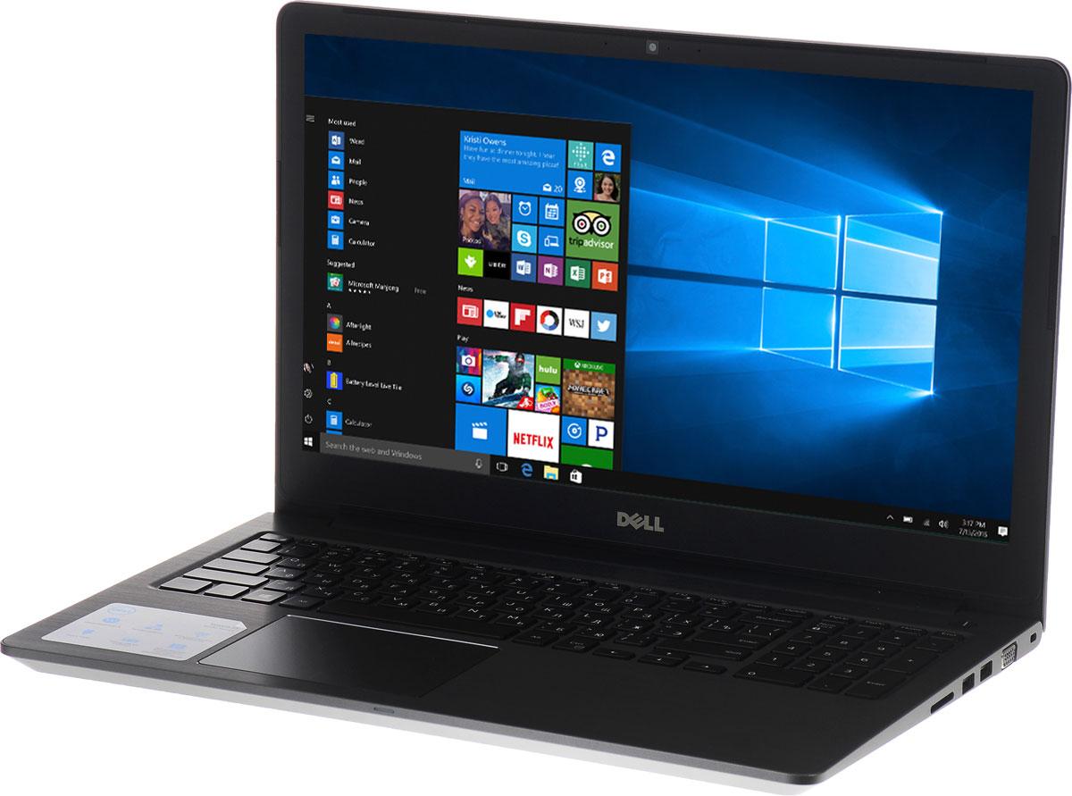 Dell Vostro 5568-0605, Grey5568-060515-дюймовый ноутбук Dell Vostro 5568, рассчитанный на производительность в типичном малом бизнесе, оснащенный клавиатурой с подсветкой, цифровой клавиатурой и функциями безопасности. Устройство имеет улучшенную легкую конструкцию и стильный внешний вид.Простота расширения: конфигурация с двумя накопителями, жестким диском и твердотельным диском, а также двумя разъемами для модулей SoDIMM DDR4 означает, что вашу систему можно будет модернизировать по мере необходимости.Превосходное изображение, четкий звук: яркий антибликовый дисплей с разрешением Full HD выдает впечатляющую картинку. Встроенная веб-камера с разрешением HD и программное обеспечение Waves MaxxAudio Pro позволяют при удаленной работе слышать друг друга исключительно четко.Дополнительное удобство: точная сенсорная панель, цифровая клавиатура и дополнительная клавиатура с подсветкой делают работу более удобной.Надежная связь. Благодаря широкому набору портов, включая USB 3.0 и 2.0, HDMI, VGA и Gigabit Ethernet, а также считывателю карт памяти SD подключение никогда не будет проблемой.Защитите свой малый бизнес: аппаратный модуль TPM 2.0 обеспечивает аппаратную защиту коммерческого класса, а также хранит ключи шифрования, позволяющие идентифицировать ваше устройство.Точные характеристики зависят от модификации.Ноутбук сертифицирован EAC и имеет русифицированную клавиатуру и Руководство пользователя.