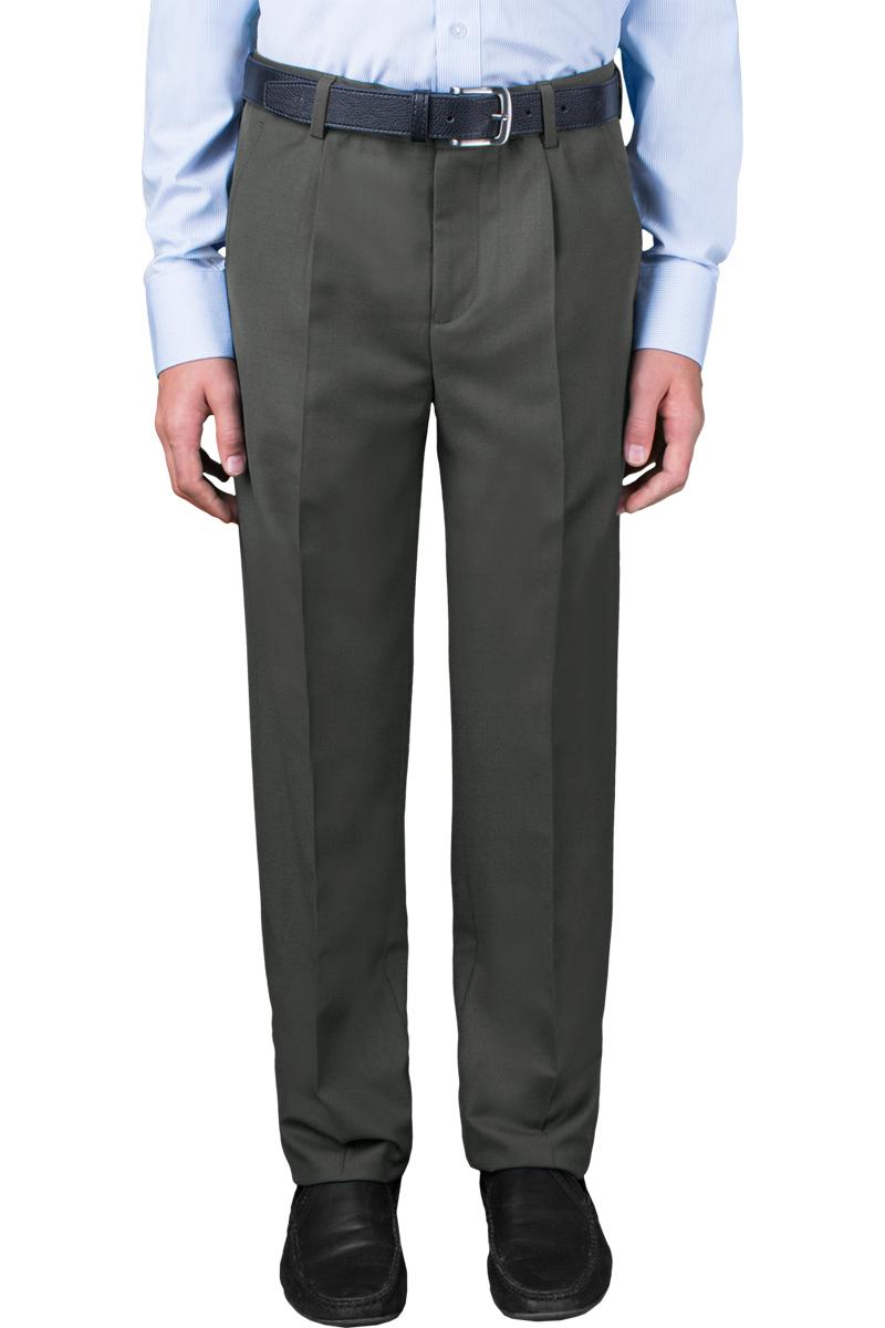 Брюки для мальчика Orby School, цвет: темно-серый. 70392_OLB_вар.1. Размер 164, 12-13 лет брюки playtoday playtoday mp002xb0042j