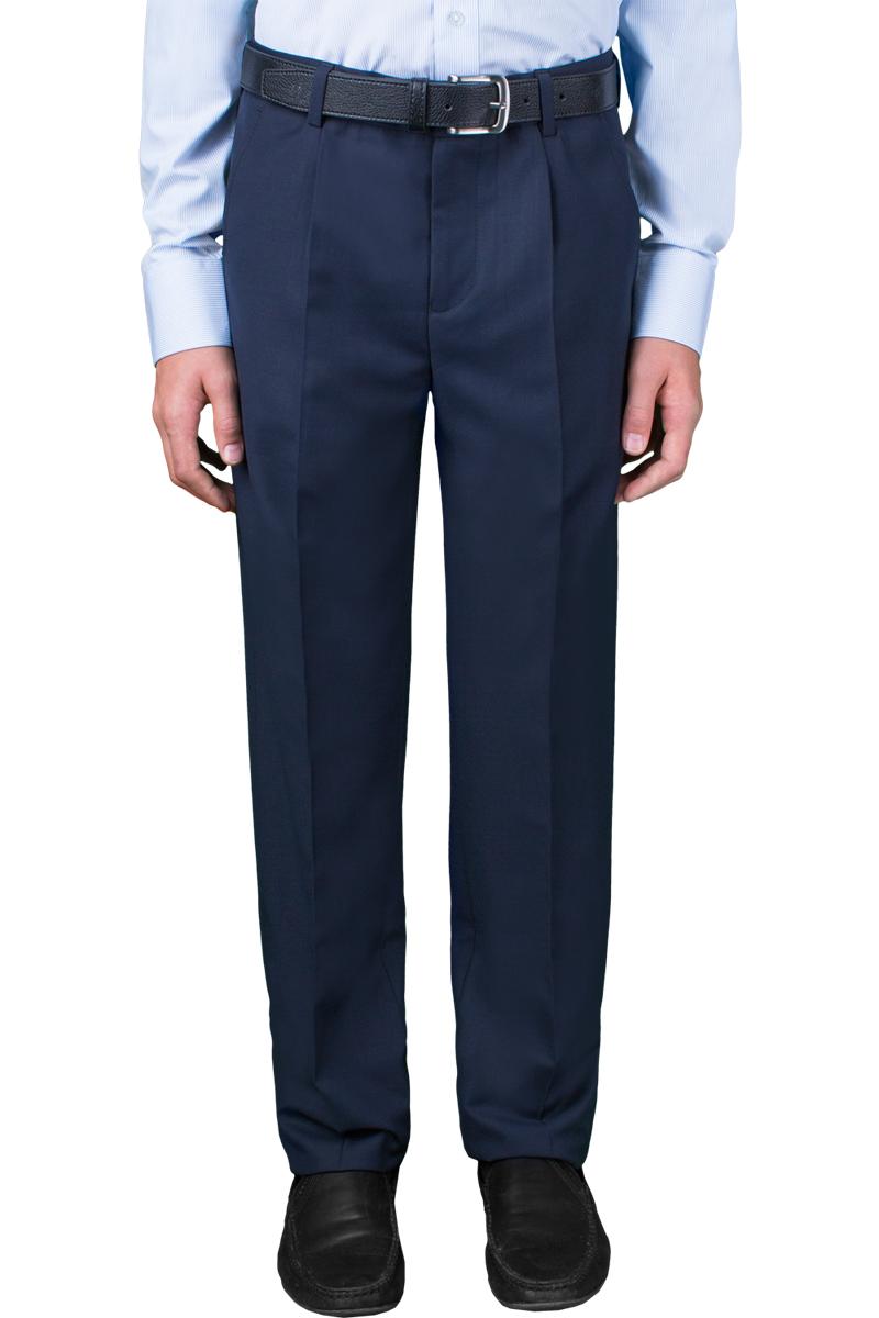 Брюки для мальчика Orby School, цвет: темно-синий. 70392_OLB_вар.2. Размер 164, 12-13 лет orby orby кардиган синий