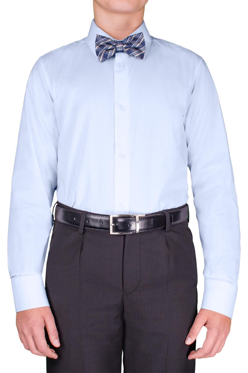 Рубашка для мальчика Orby School, цвет: синий. 70404_OLB_вар.3. Размер 164, 12-13 лет70404_OLB_вар.3Классическая рубашка для мальчика Orby School выполнена из полиэстера и хлопка. Модель приталенного силуэта с отложным воротником и длинными рукавами застегивается спереди на пуговицы. На рукавах предусмотрены манжеты с застежками-пуговицами. Лицевая сторона изделия оформлена внизу вышивкой. Лаконичная прострочка завершает композицию. Такая модель отлично сочетается и с вязаными изделиями, и с пиджаками из костюмной ткани.