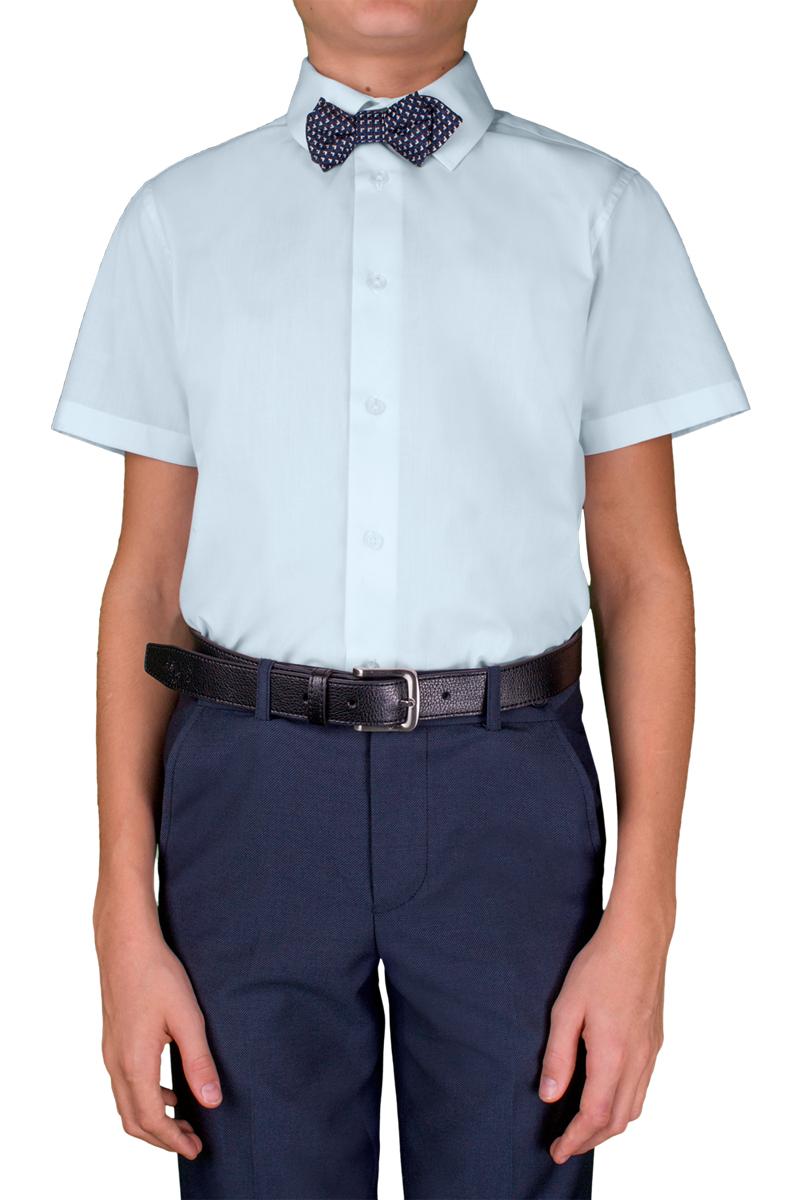 Рубашка для мальчика Orby, цвет: голубой. 70405_OLB_вар.2. Размер 140, 9-10 лет70405_OLB_вар.2Стильная рубашка для мальчика Orby идеально подойдет для школы. Она необычайно мягкая, легкая и приятная на ощупь, не сковывает движения малыша и позволяет коже дышать, не раздражает даже самую нежную и чувствительную кожу ребенка, обеспечивая ему наибольший комфорт. Рубашка прямого кроя с коротким рукавом и классическим воротничком застегивается на пуговицы.Такая рубашка - незаменимая вещь для повседневного гардероба.