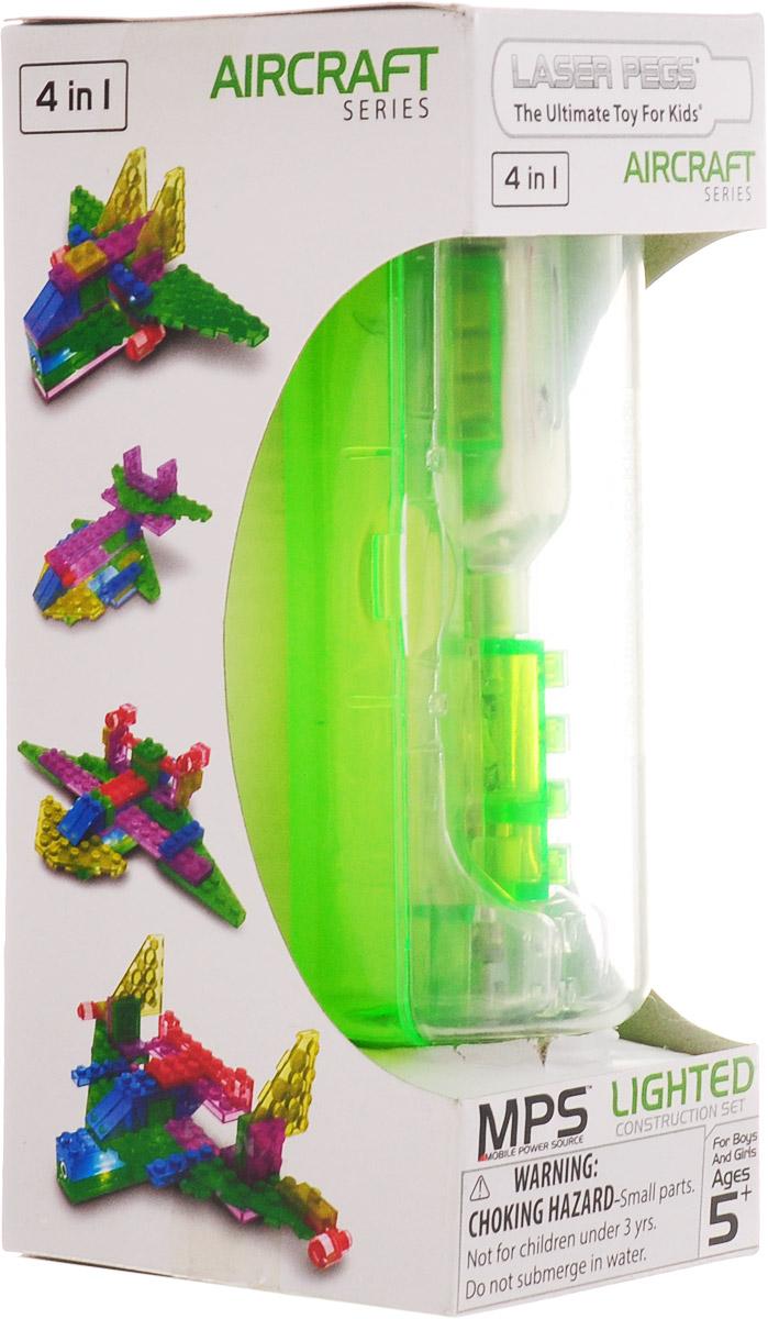 Laser Pegs Конструктор Аэропланы 4 в 1 конструкторы laser pegs световая панель 3d