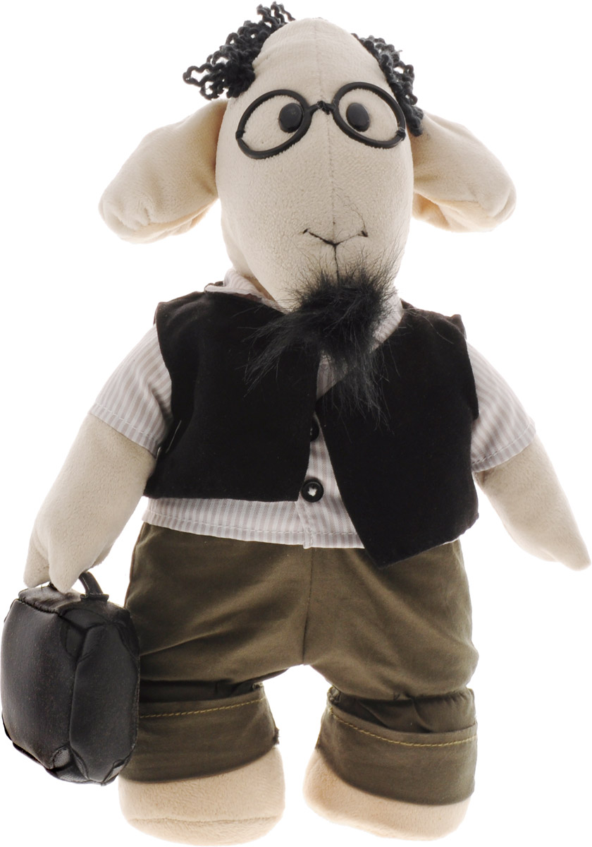 "Мягкая игрушка Fluffy Family ""Овечки челОвечки: Профессор"", 31 см"