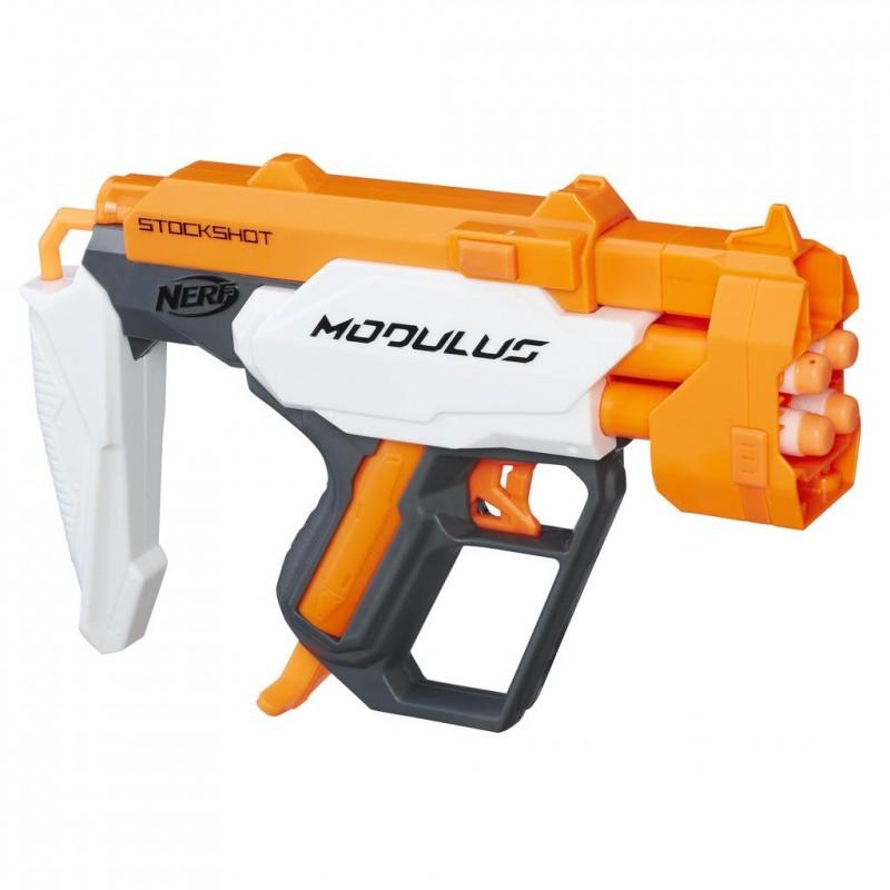 Nerf Бластер Modulus Barrelstrike C0389_C0391 - Игрушечное оружие