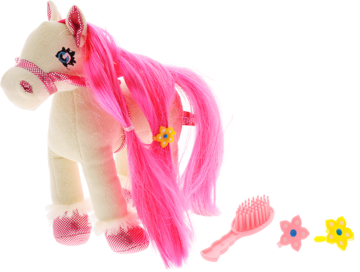 """Мягкая игрушка Fancy """"Лошадка Лили"""", с аксессуарами, 22 см"""