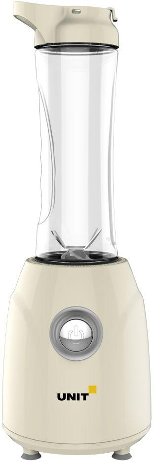 Unit UBI-402, Beige блендерCE-0480615Блендер Unit UBI-402 с прорезиненными ножками - отличный помощник на кухне!Колба проста в использовании, изготовлена из высокопрочного пластика - тритана, что обеспечивает долгий срок эксплуатации.