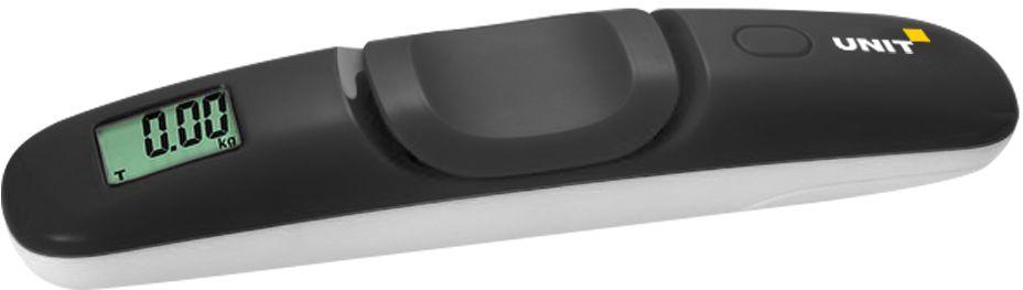 Unit UBS-2111, Black весы багажныеCE-0473312Весы электронные багажные UNIT UBS-2111, 50кг. Цвет: Черный