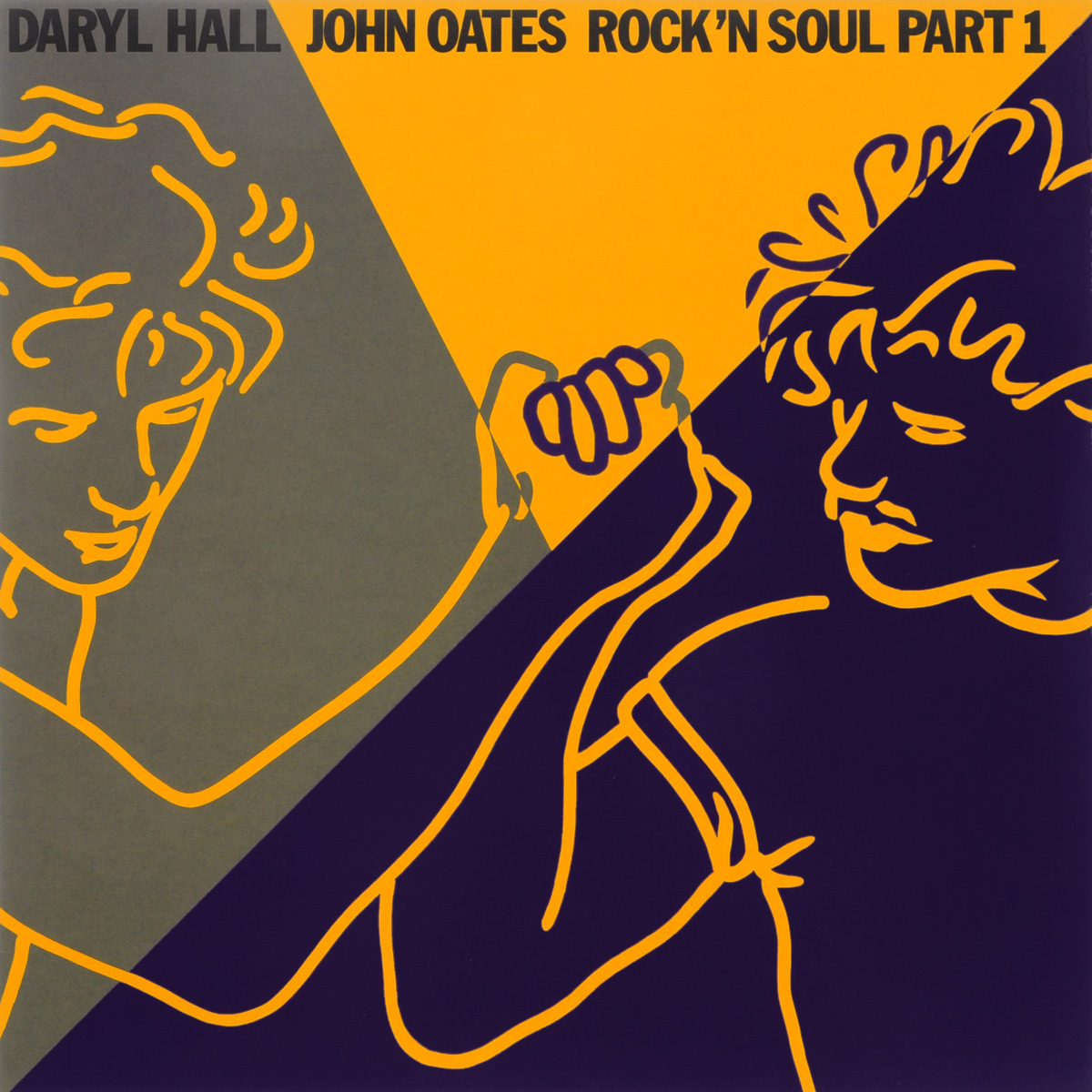 Дэрил Холл,Джон Оатс Daryl Hall, John Oates. Rock'n Soul. Part 1 (LP)