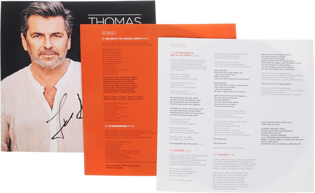 Thomas Anders.  Pures Leben (2 LP + CD) Warner Music