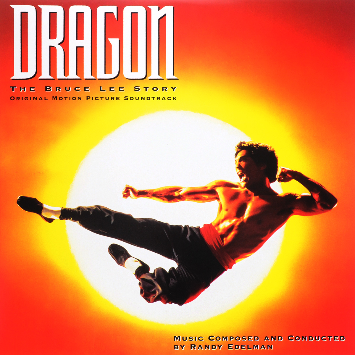 Randy Edelman. Dragon. The Bruce Lee Story. Original Motion Picture Soundtrack (LP)