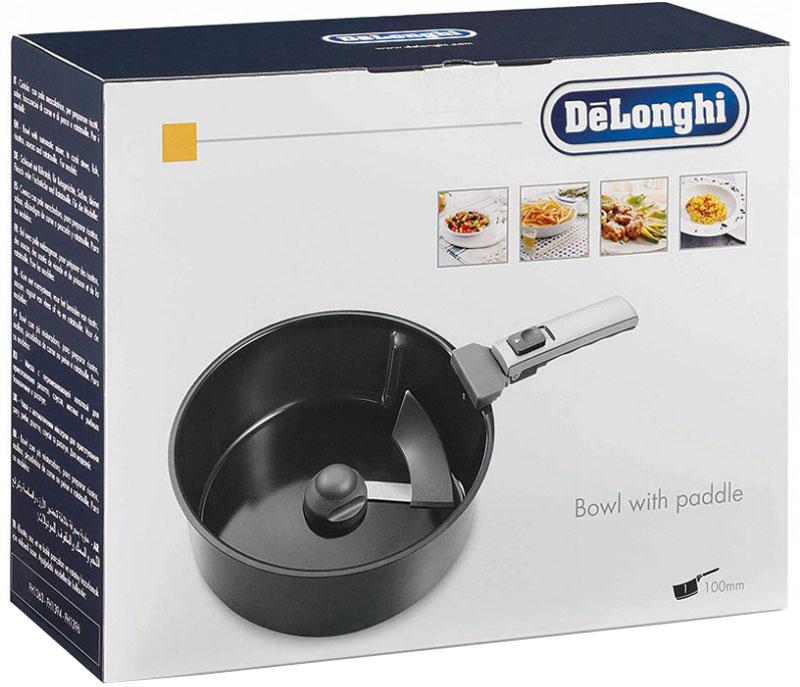 DeLonghi DLSK101 чаша для мультиварки5512510151Керамическая чаша DeLonghi DLSK101 с автоматическим миксером для мультиварок обеспечит постоянное помешивание содержимого в процессе готовки. Молочные каши, горячий шоколад, мясо с картофелем или варенье - всё будет в постоянном движении и готовиться равномерно, исключая возможность застаивания или подгорания. Чаша высокоэкологична и устойчива к появлению царапин.
