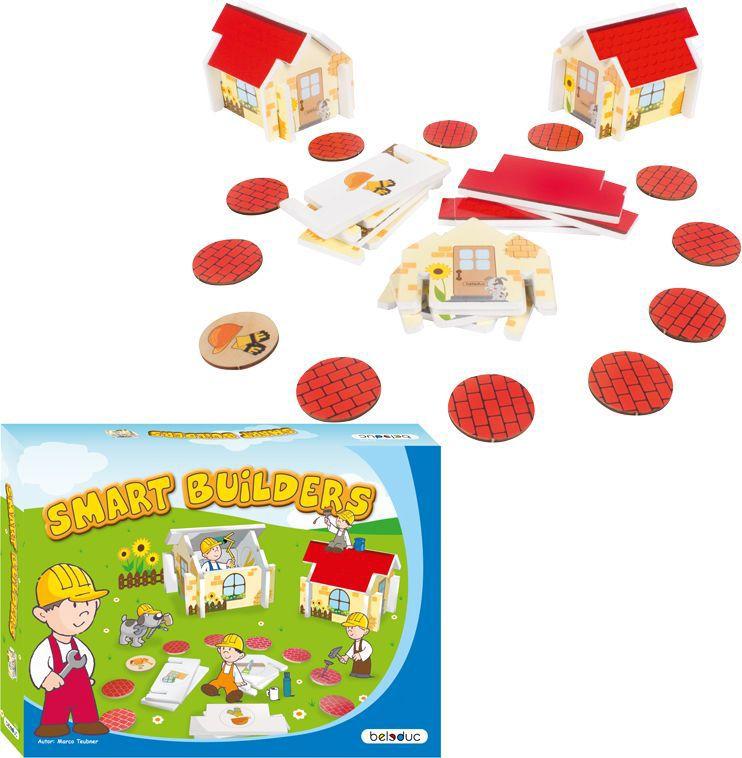 Beleduc Обучающая игра Ловкие строители