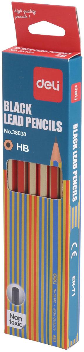 Deli Набор чернографитных карандашей 12 штE38038Набор чернографитных карандашей Deli станет незаменимым инструментом для начинающих и профессиональных художников. В набор входят 12 чернографитных карандашей твердости HB.Корпус карандашей выполнен из мягкого дерева, благодаря чему их легко затачивать. Высококачественный графитный стержень имеет высокую прочность и не ломается, обеспечивая мягкое письмо.Набор чернографитных карандашей - это практичный и современный художественный инструмент, который поможет вам в создании самых выразительных произведений, а также пригодится для выполнения записей и пометок.