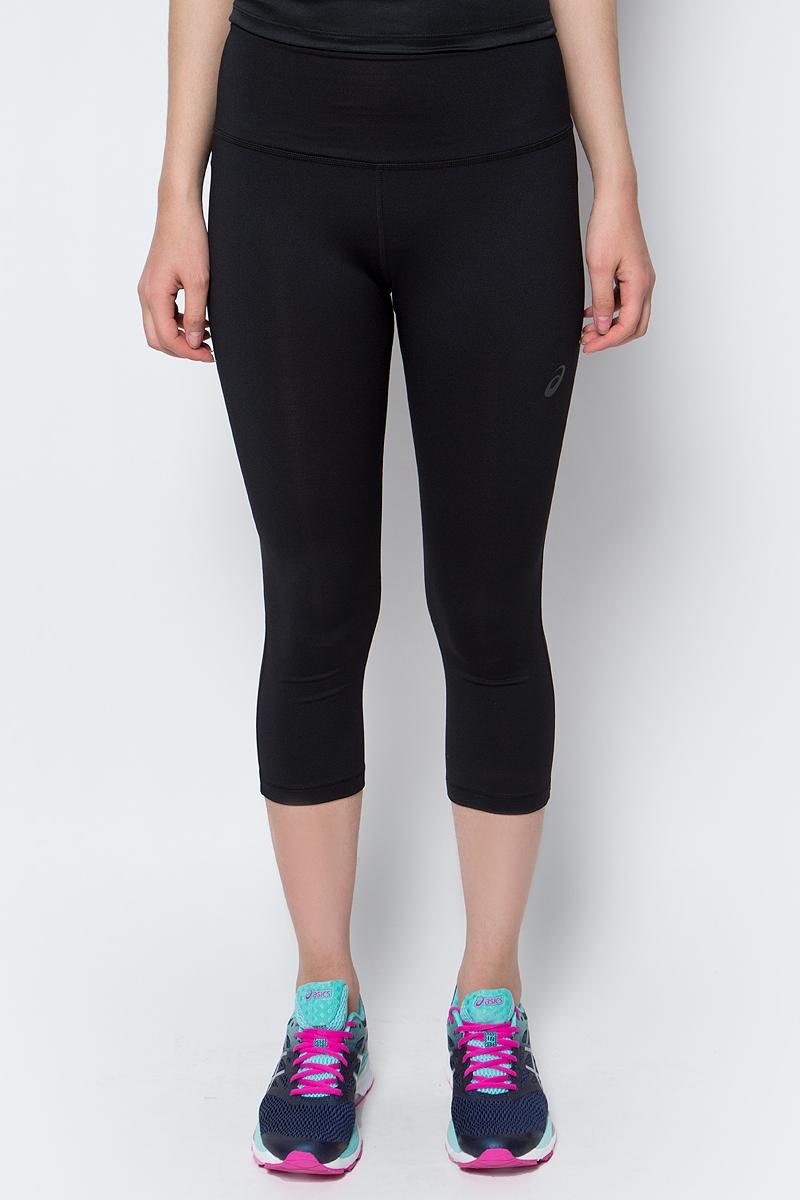 Бриджи для фитнеса женские Asics 3/4 Spiral Tight, цвет: черный. 136047-0904. Размер XS (40/42) тайтсы женские asics icon tight цвет черный 154561 8098 размер xs 42