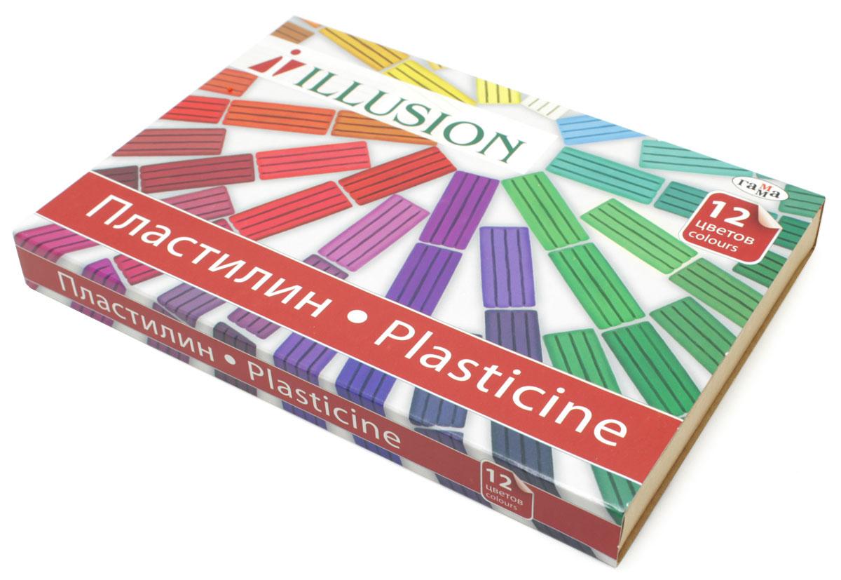 Гамма Пластилин Illusion 12 цветов280003Пластилин Гамма предназначен для лепки и моделирования. Лепка из пластилина не только доставляет удовольствие, но и способствует снятию мышечного и психического напряжения, развитию мелкой моторики рук и пространственного мышления.Пластилин изготовлен из нетоксичных компонентов и безопасен для малышей.