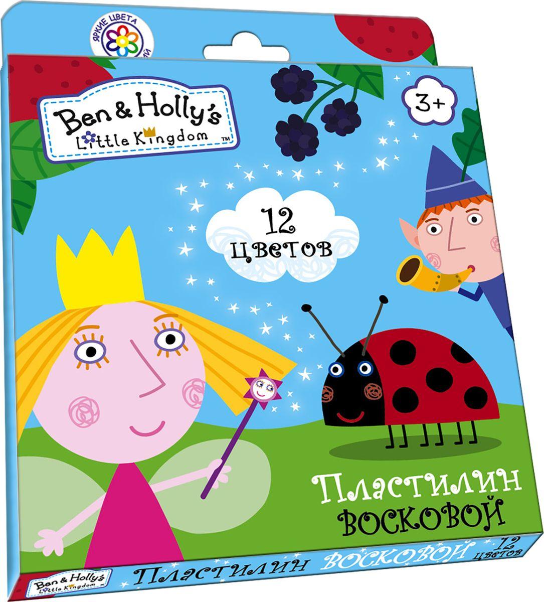 Ben&Holly Пластилин восковой Бен и Холли 12 цветов31682Яркий восковый пластилин Бен и Холли поможет вашему малышу создавать не только прекрасные поделки, но и рисунки. Изготовленный на основе природного воска и натуральных наполнителей, он обладает особой мягкостью и пластичностью: легко разминается и моделируется детскими пальчиками, не пачкается, не прилипает к рукам и рабочей поверхности, не крошится, не высыхает, хорошо держит форму, его цвета легко смешиваются друг с другом. Создавайте новые цвета и оттенки, лепите, рисуйте и экспериментируйте, развивая при этом у ребенка мелкую моторику, тактильное восприятие формы, веса и фактуры, воображение и пространственное мышление. А любимые герои будут вдохновлять юного мастера на новые творческие идеи. В наборе Бен и Холли 12 ярких цветов воскового пластилина по 15 г и пластиковая стека. Состав: парафин, петролатум, мел, каолин, красители.