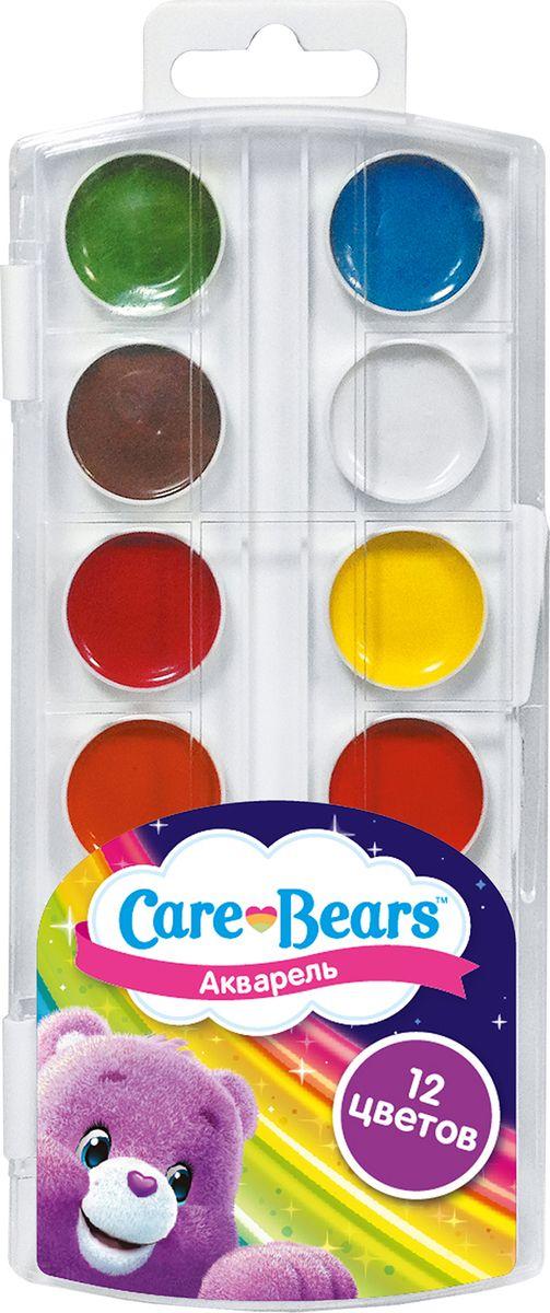 Care Bears Акварель Заботливые мишки 12 цветов31707В наборе акварельных красок Care Bears Заботливые мишки 12 насыщенных цветов, которые помогут вашему ребенку создать множество ярких картинок. Краски идеально подходят для рисования: они хорошо размываются водой, легко наносятся на поверхность, быстро сохнут, безопасны при использовании по назначению. Цвета: белый, желтый, оранжевый, красный, розовый, голубой, синий, светло-зеленый, темно-зеленый, светло-коричневый, коричневый, черный.