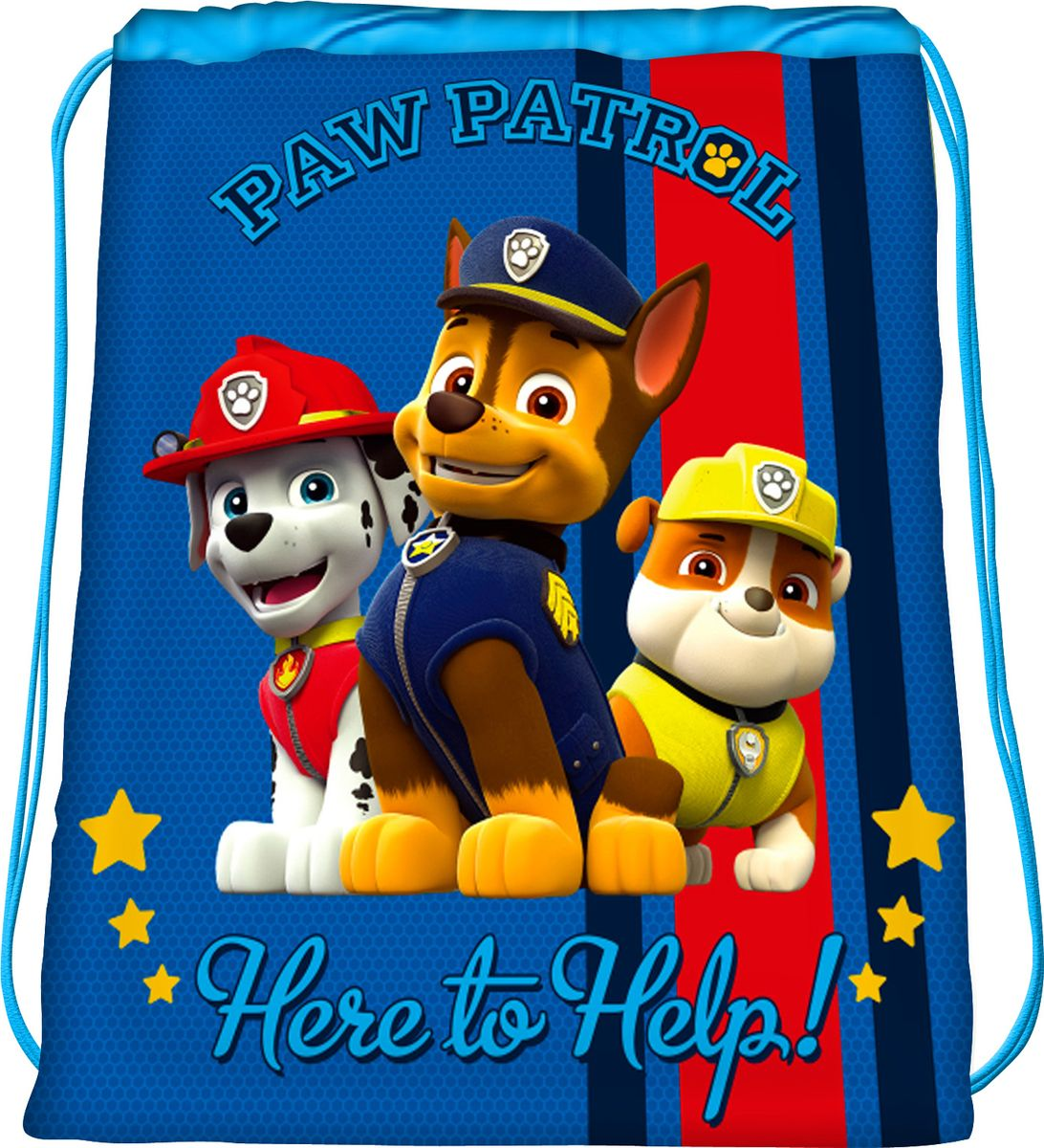Paw Patrol Мешок для обуви Щенячий патруль цвет синий