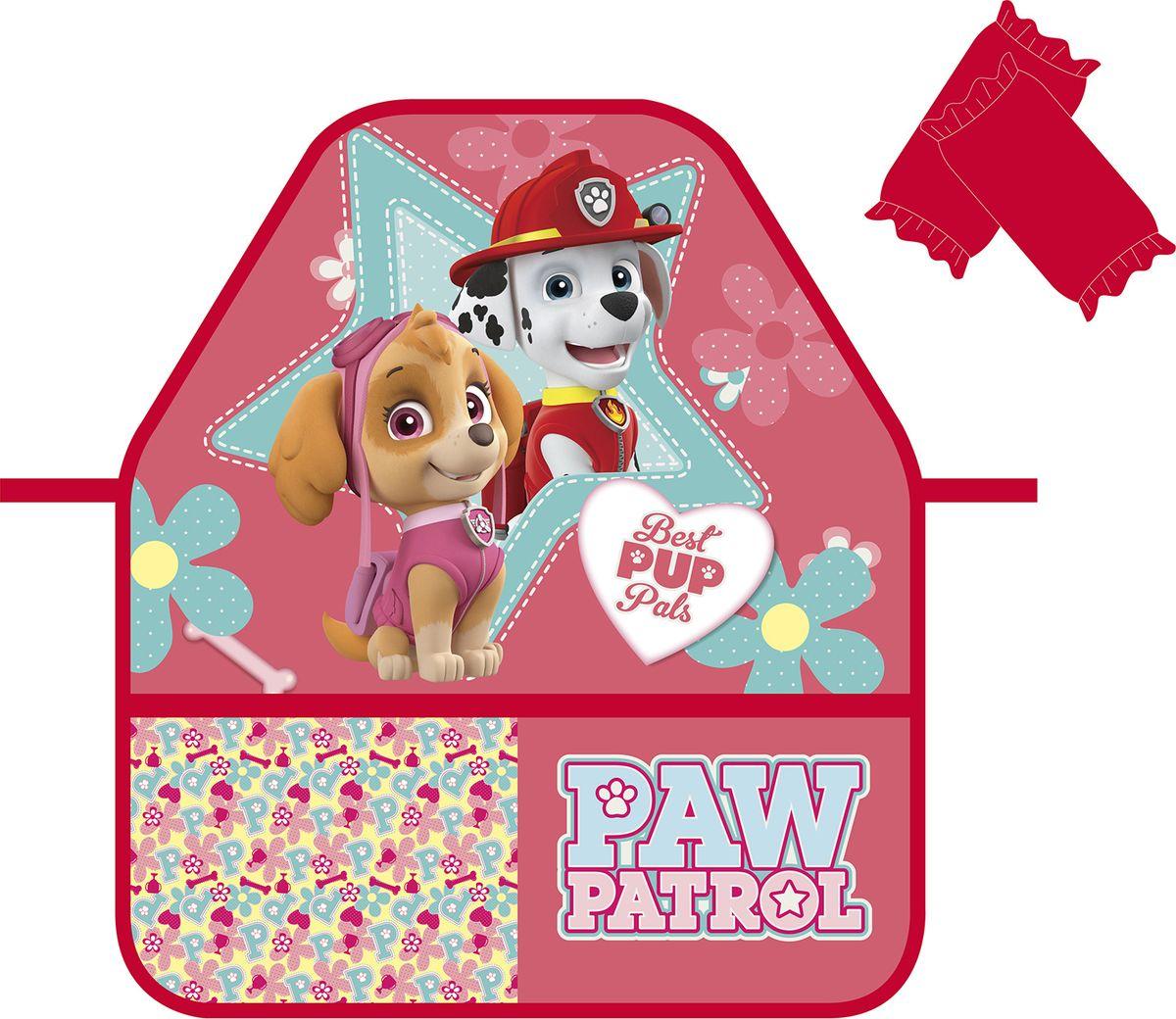 Paw Patrol Фартук детский с нарукавниками Щенячий патруль цвет красный -  Аксессуары для труда