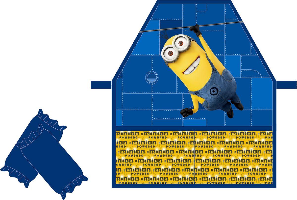 Universal Миньоны Фартук детский с нарукавниками цвет синий желтый -  Аксессуары для труда