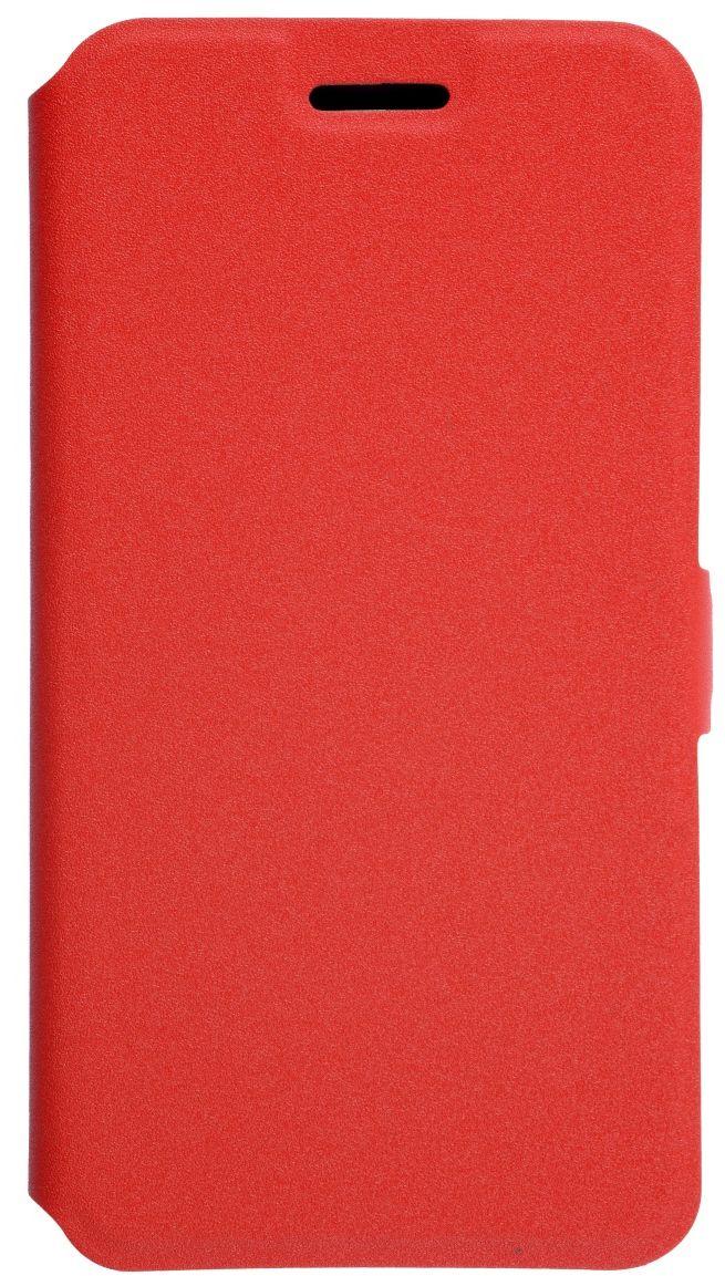 Prime Book чехол для LG K10 (2017), Red  чехол для lg k10 2017 m250 prime book красный