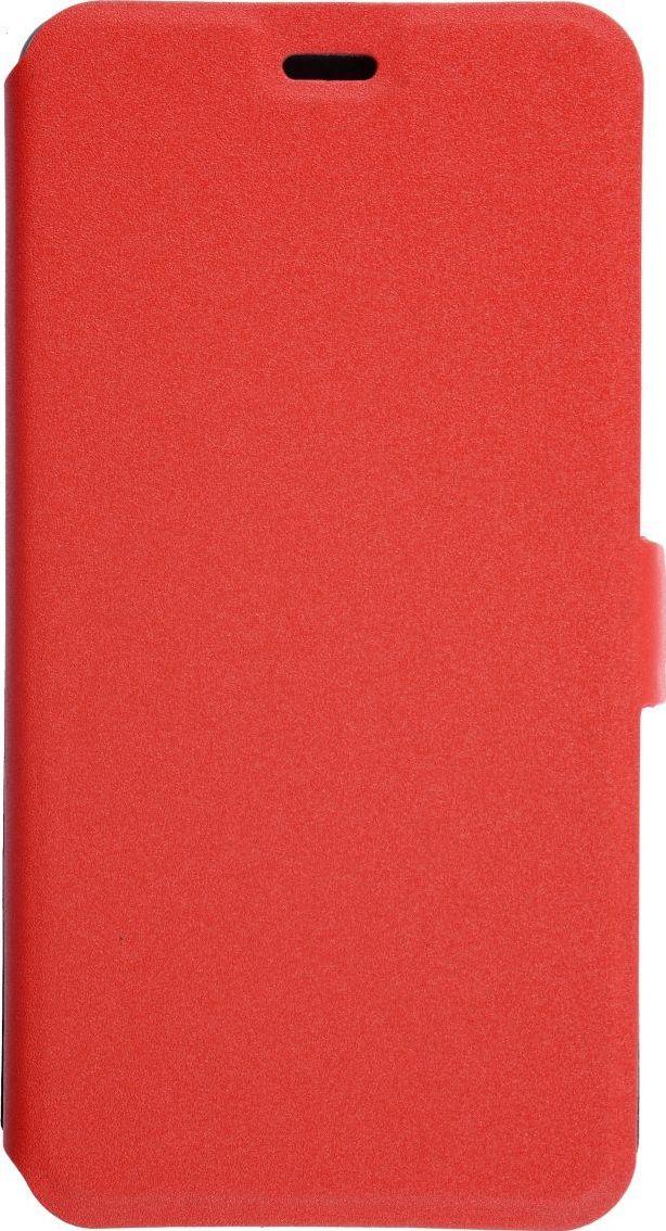 Prime Book чехол для Xiaomi Redmi Note 4X, Red2000000135014Чехол надежно защищает ваш смартфон от внешних воздействий, грязи, пыли, брызг. Он также поможет при ударах и падениях, не позволив образоваться на корпусе царапинам и потертостям. Чехол обеспечивает свободный доступ ко всем функциональным кнопкам смартфона и камере.