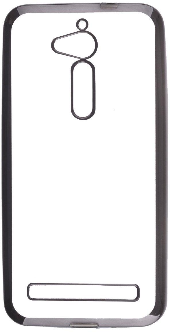 Skinbox Silicone Chrome Border 4People чехол для ASUS ZenFone Go (ZB500KG), Dark Silver2000000125404Чехол-накладка Skinbox Silicone Chrome Border 4People для ASUS ZenFone Go (ZB500KG) бережно и надежно защитит ваш смартфон от пыли, грязи, царапин и других повреждений. Выполнен из высококачественного поликарбоната, плотно прилегает и не скользит в руках. Чехол-накладка оставляет свободным доступ ко всем разъемам и кнопкам устройства.