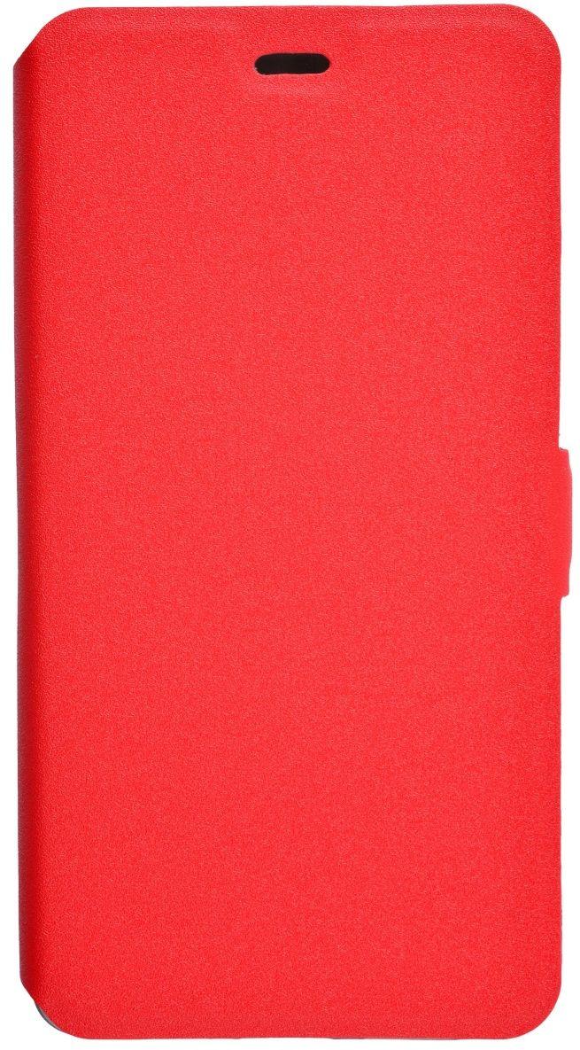 Prime Book чехол для Xiaomi RedMi 4, Red2000000123677Чехол Prime Book для Xiaomi RedMi 4 выполнен из высококачественного поликарбоната и экокожи. Он обеспечивает надежную защиту корпуса и экрана смартфона и надолго сохраняет его привлекательный внешний вид. Чехол также обеспечивает свободный доступ ко всем разъемам и клавишам устройства.