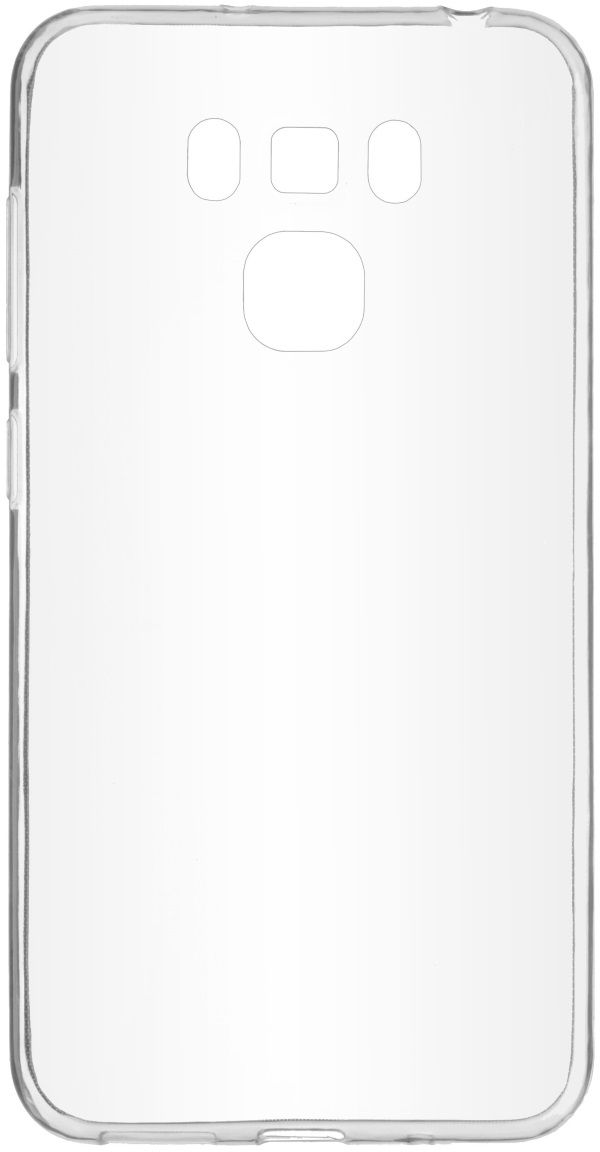 Skinbox Slim Silicone 4People чехол для ASUS Zenfone 3 Max (ZC553KL), Transparent чехол для asus zenfone go zb500kg skinbox 4people silicone chrome border case темно серебристый